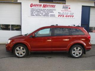 Used 2012 Dodge Journey Crew V6, LOADED, SUNROOF, HEATED SEATS for sale in Swift Current, SK