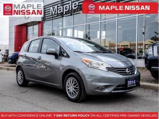 Used 2014 Nissan Versa Note 1.6 SV Bluetooth Keyless Entry A/C Clean Carfax for sale in Maple, ON