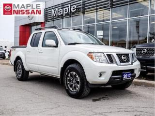 Used 2017 Nissan Frontier PRO 4X CC Navi Moonroof Backup Cam Heated Seats for sale in Maple, ON