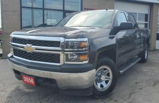 Used 2014 Chevrolet Silverado 1500 4WD Crew Cab - Accident Free, Safety Certified for sale in Oakville, ON