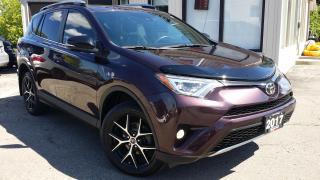 Used 2017 Toyota RAV4 SE 4WD - LEATHER! NAV! BACK-UP CAM! BSM! SAFETY SENSE! for sale in Kitchener, ON
