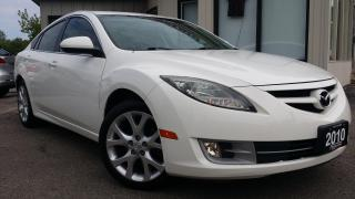 Used 2010 Mazda MAZDA6 GT-I4 - LEATHER! SUNROOF! BSM! for sale in Kitchener, ON