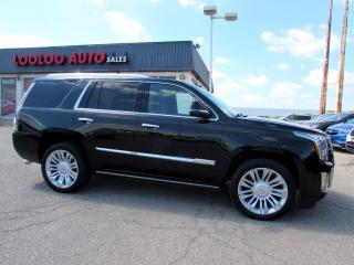 Used 2016 Cadillac Escalade Platinum 4WD DVD NAVIGATION CAMERA CERTIFIED for sale in Milton, ON