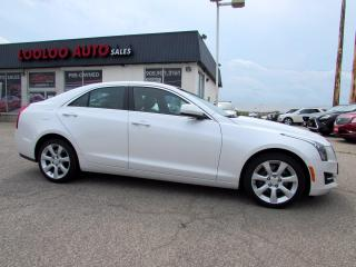 Used 2015 Cadillac ATS 4 ATS4 2.0L Turbo AWD Leather Bluetooth Certified for sale in Milton, ON