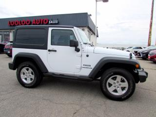 Used 2013 Jeep Wrangler Sport 4WD 3.6L Automatic Alloys Certified for sale in Milton, ON