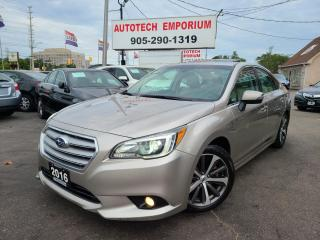 Used 2016 Subaru Legacy 3.6R Limited Navigation/Eyesight/Leather/Sunroof for sale in Mississauga, ON