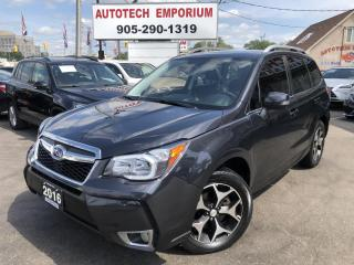 Used 2016 Subaru Forester XT LIMITED Navigation/Leather/Sunroof/Pwr Hatch for sale in Mississauga, ON