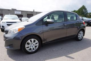 Used 2012 Toyota Yaris LE PREMUIM PKG CERTIFIED 2YR WARRANTY BLUETOOTH *1 OWNER* CRUISE AUX for sale in Milton, ON