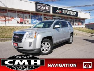 Used 2015 GMC Terrain SLT-1  NAV CAM BT ROOF HTD-SEATS P/SEATS for sale in St. Catharines, ON