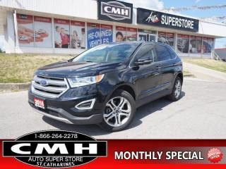 Used 2016 Ford Edge Titanium  NAV ROOF LEATH CLD-SEATS P/GATE 19-AL for sale in St. Catharines, ON