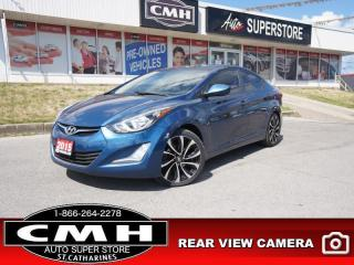 Used 2015 Hyundai Elantra GLS  CAM ROOF HTD-SEATS BT PREM-ALLOYS for sale in St. Catharines, ON