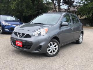 Used 2019 Nissan Micra S |BACKUP CAM |BLUETOOTH |AUTOMATIC for sale in Stoney Creek, ON