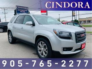 Used 2015 GMC Acadia SLT, AWD, NAV, Leather, Pano Roof for sale in Caledonia, ON