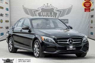 Used 2017 Mercedes-Benz C-Class AWD, NO ACCIDENT, NAVI, REAR CAM, B.SPOT, PANO ROOF for sale in Toronto, ON