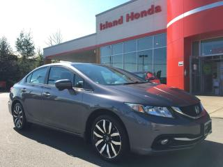 Used 2014 Honda Civic Touring for sale in Courtenay, BC