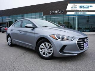 Used 2017 Hyundai Elantra 1 OWNER | BLUETOOTH | HTD SEATS  - $88 B/W for sale in Brantford, ON