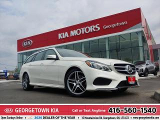 Used 2015 Mercedes-Benz E-Class E400 4MATIC| LTHR| NAVI | ROOF | BU CAM | HTD SEAT for sale in Georgetown, ON