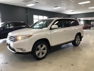 Used 2013 Toyota Highlander LEATHER*SUNROOF*REAR VIEW CAMERA*7-PASS*CERTIFIED* for sale in North York, ON