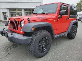 Used 2015 Jeep Wrangler EDITION ''WILLYS'' 4X4, 2 TOITS for sale in Vallée-Jonction, QC