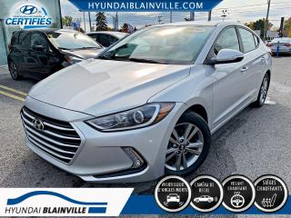 Used 2018 Hyundai Elantra GL APPLE CARPLAY, VOLANT CHAUFFANT, MAGS for sale in Blainville, QC