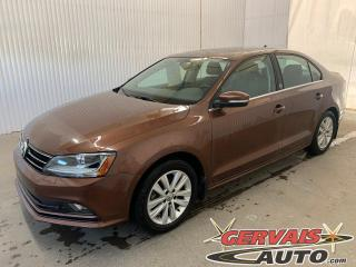 Used 2017 Volkswagen Jetta Wolfsburg Edition Toit Ouvrant Mags Caméra for sale in Trois-Rivières, QC