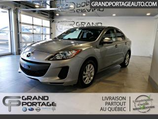 Used 2012 Mazda MAZDA3 Berline 4 portes, boîte automatique, GS- for sale in Rivière-Du-Loup, QC