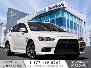 Used 2015 Mitsubishi Lancer Evolution 1 OWNER|SUPER ALL WHEEL DRIVE|GSR for sale in Scarborough, ON
