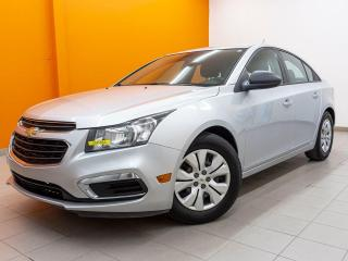 Used 2015 Chevrolet Cruze LS *PROGRAMME 100% APPROUVÉ* for sale in St-Jérôme, QC