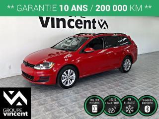 Used 2017 Volkswagen Golf Sportwagen TRENDLINE AWD 4MOTION ** GARANTIE 10 ANS ** La familiale à traction intégrale amusante à conduire! for sale in Shawinigan, QC