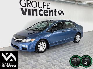 Used 2009 Honda Civic DX ** AUTOMATIQUE ** Voici votre chance de posséder une Civic à bas prix! for sale in Shawinigan, QC