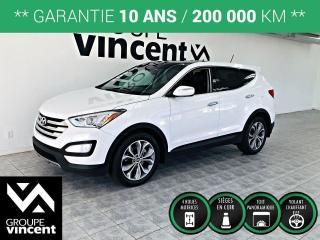Used 2013 Hyundai Santa Fe SE 2.0T AWD CUIR TOIT PANO ** GARANTIE 10 ANS ** Spacieux et confortable, le VUS ideal pour la famille! for sale in Shawinigan, QC