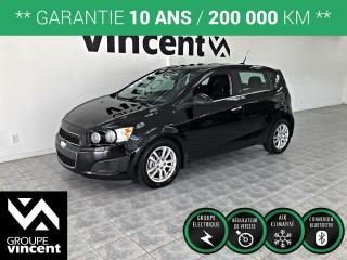 Used 2012 Chevrolet Sonic LT ** GARANTIE 10 ANS ** Véhicule comme neuf, un seul propriétaire! for sale in Shawinigan, QC