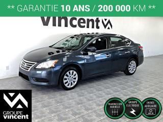 Used 2013 Nissan Sentra 1.8 S ** GARANTIE 10 ANS ** Roulez en Sentra à prix abordable! for sale in Shawinigan, QC