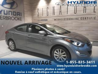 Used 2016 Hyundai Elantra SPORT+TOIT+CAMERA+BANCS CHAUF+BLUETOOTH for sale in Sherbrooke, QC