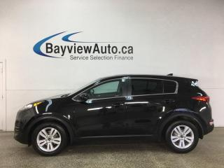 Used 2018 Kia Sportage LX - REVERSE CAM! HTD SEATS! VOICE COMMAND! for sale in Belleville, ON