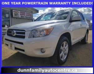Used 2007 Toyota RAV4 LIMITED  for sale in Dugald, MB