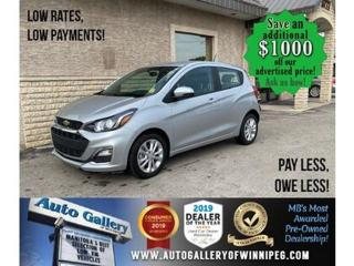 Used 2020 Chevrolet Spark 1LT* B.cam/B.tooth/AT for sale in Winnipeg, MB