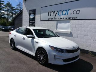 Used 2017 Kia Optima LX HEATED PWR SEATS, ALLOYS, BACKUP CAM, CLEAN CAR!! for sale in Richmond, ON