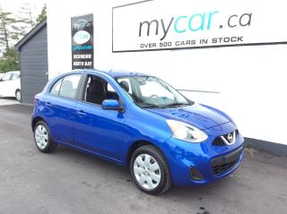 Used 2017 Nissan Micra POWERGROUP, A/C., SUPER LOW MILEAGE!! for sale in Richmond, ON