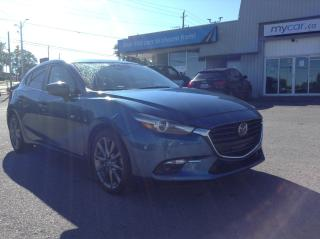 Used 2018 Mazda MAZDA3 GT LEATHER, SUNROOF, NAV, BEAUTIFUL RARE COLOUR!! for sale in Kingston, ON