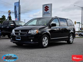 Used 2019 Dodge Grand Caravan Crew Plus ~Nav ~DVD ~Heated Leather ~Power Doors for sale in Barrie, ON