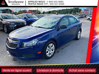 Used 2013 Chevrolet Cruze LS**AUTOMATIQUE**PNEUS HIVER SUR ROUES** for sale in Terrebonne, QC