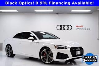 Used 2020 Audi S5 Coupe Technik w/Sport Diff & Advanced Driver Assistance *New* for sale in Winnipeg, MB