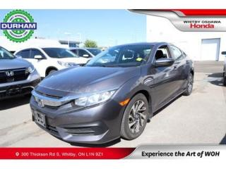 Used 2016 Honda Civic EX for sale in Whitby, ON