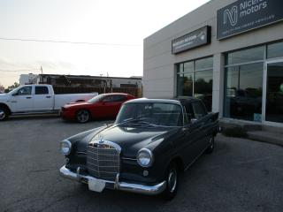 Used 1963 Mercedes-Benz 190 for sale in Oakville, ON