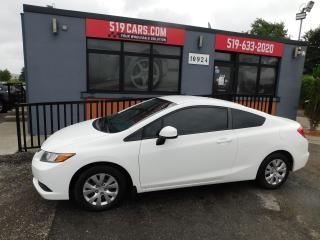 Used 2012 Honda Civic LX | Bluetooth | Cruise | Low Kms for sale in St. Thomas, ON