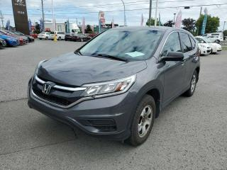 Used 2016 Honda CR-V 2WD 5dr LX for sale in Gatineau, QC