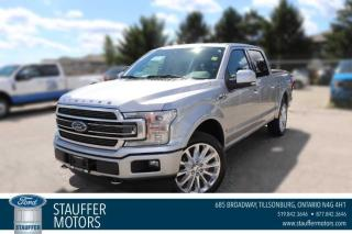 New 2020 Ford F-150 Limited  for sale in Tillsonburg, ON