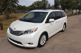 Used 2015 Toyota Sienna XLE 7 Passenger AWD POWER SLIDE DOORS DVD NAV SUNROOF for sale in Regina, SK