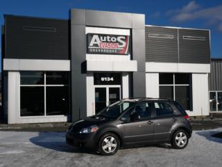 Used 2010 Suzuki SX4 JX FWD + INSPECTÉ + FREINS NEUFS for sale in Sherbrooke, QC